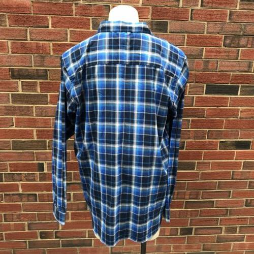 Columbia Sportswear Vapor Mens XLT Button Down Flannel Shirt