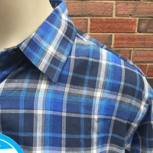 Columbia Ridge Mens XLT Down LS Flannel Shirt