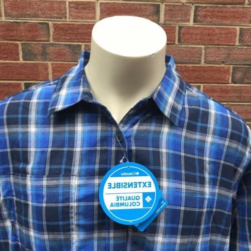 Columbia Vapor Mens Down LS Shirt