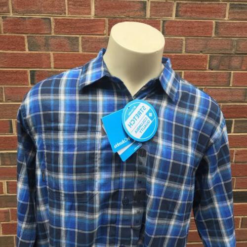 Columbia Mens XLT Down LS Shirt