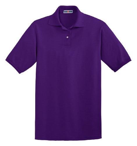 spotshield double needle knit shirt