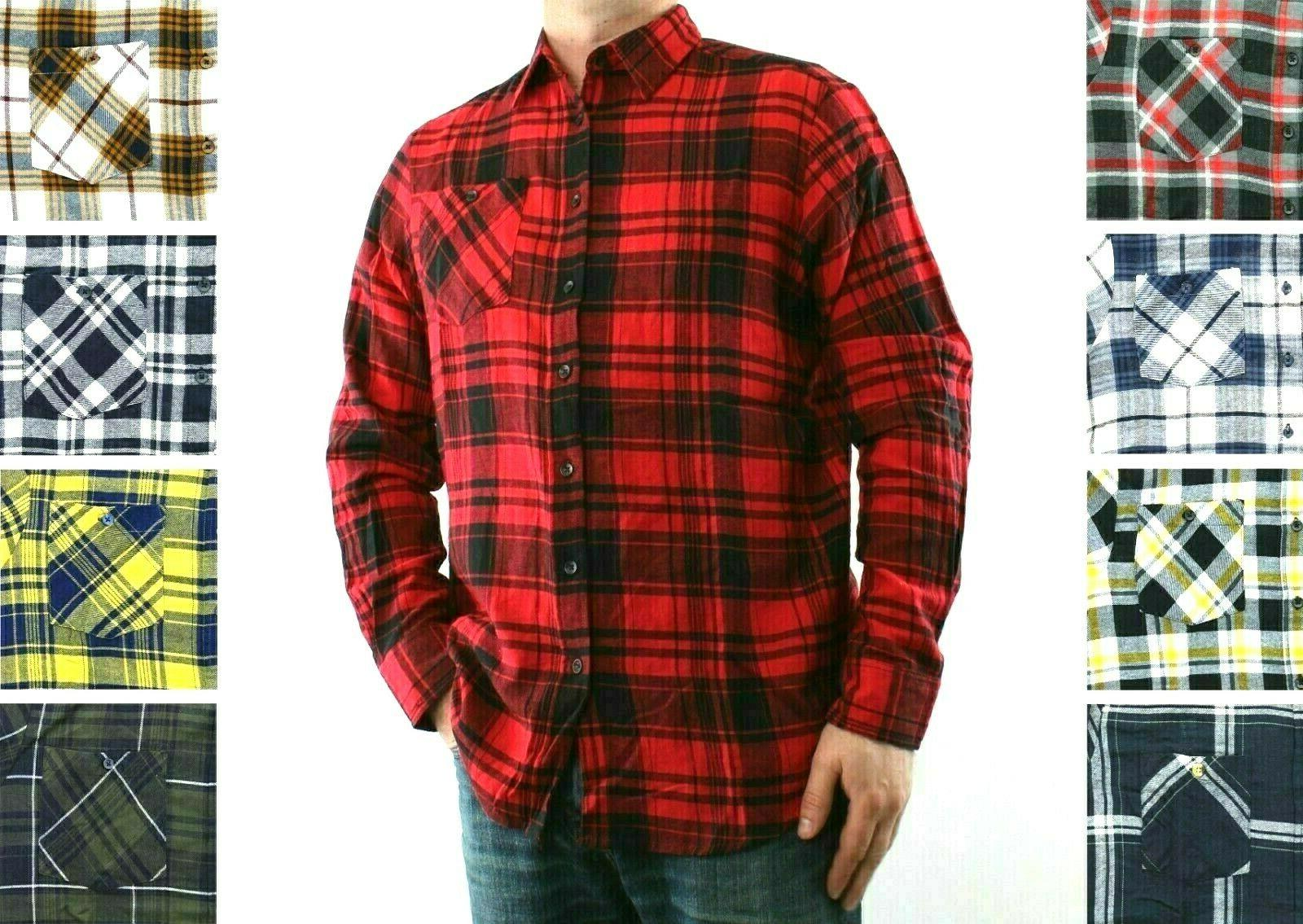 st johns bay flannel shirt men s