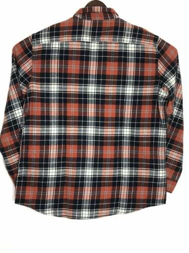 Sonoma Flannel Sleeves Button Shirt Sz XL-New
