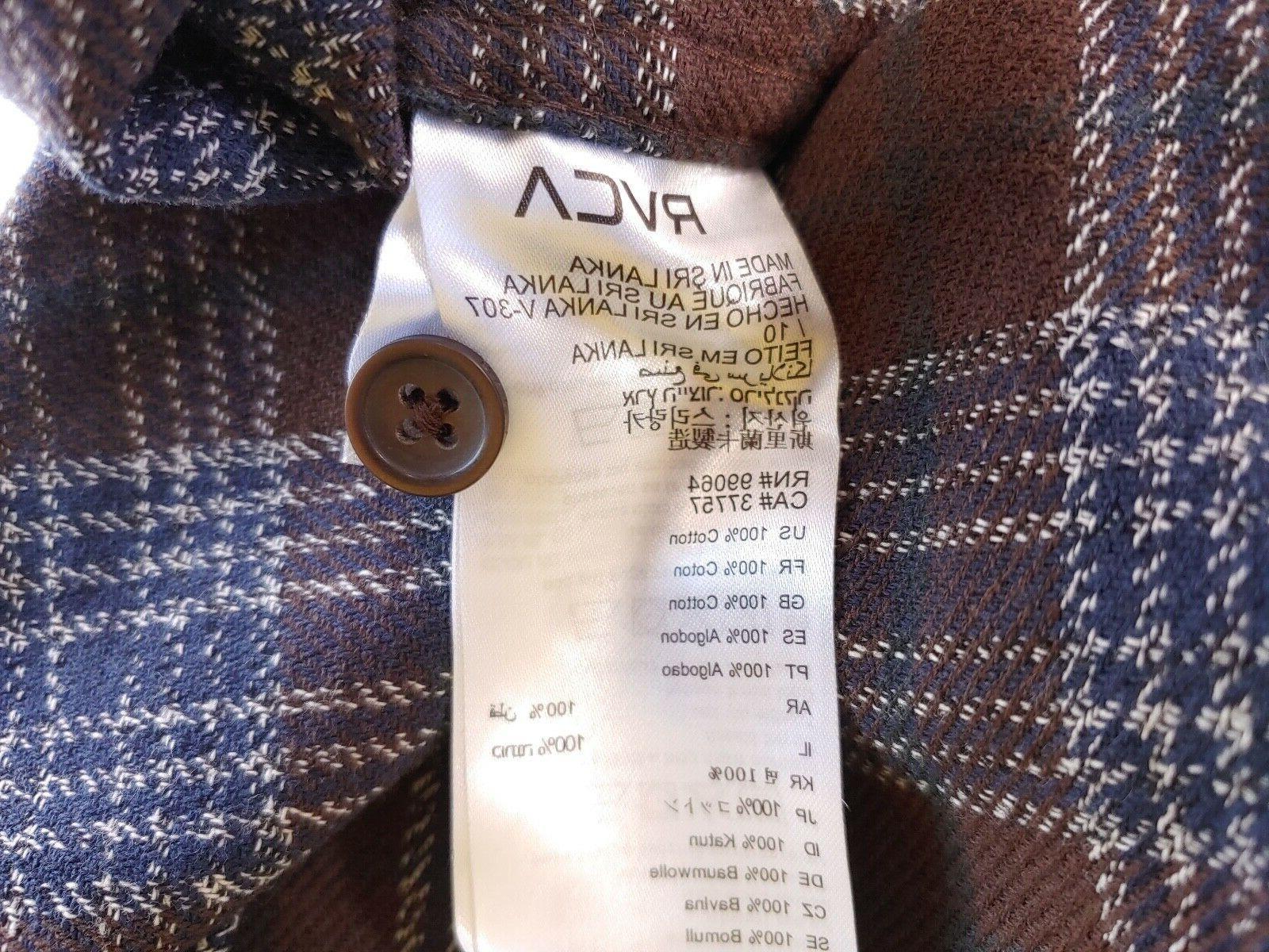 RVCA Work Shirt Sleeve Regular