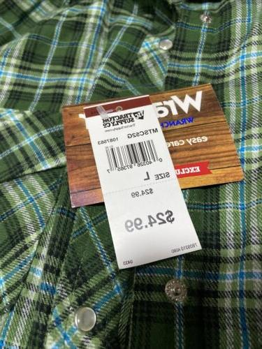 Flannel Sleeve Snaps