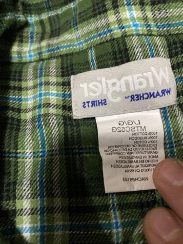 Flannel Sleeve Large Snaps