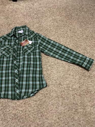 Wrangler Flannel Sleeve L Snaps