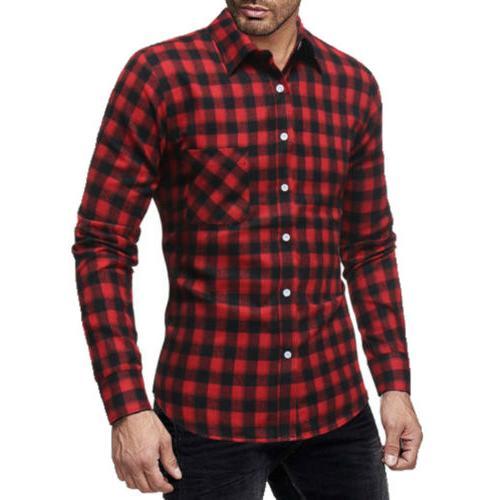 Classic US Shirts Long Sleeve Work Dress Shirt Formal Tops