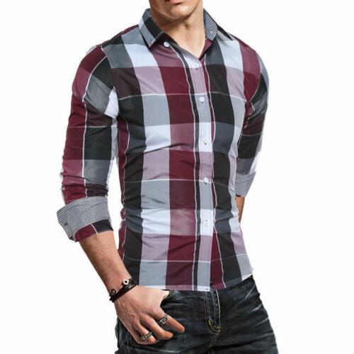 US Shirt Long Button Down Casual