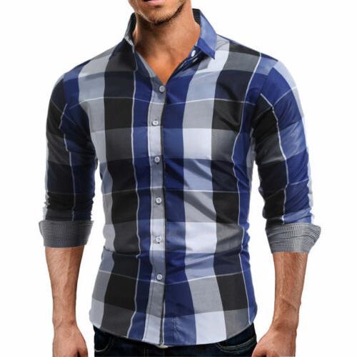 US Shirt Long Sleeve Button Down