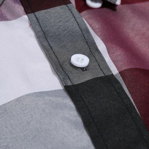 US Shirt Long Button Down Casual Shirts