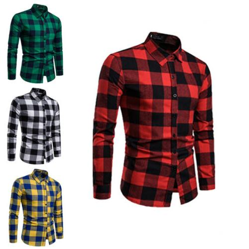 US Tops Plaid Shirts