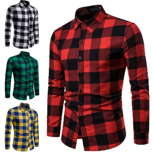 us men autumn flannel t shirt bisiness