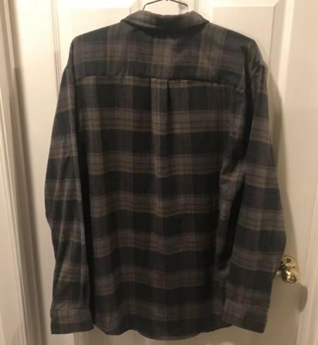 Arrow 1851 Mens Large Hunting Up Shirt Long Sleeve Flannel NWT