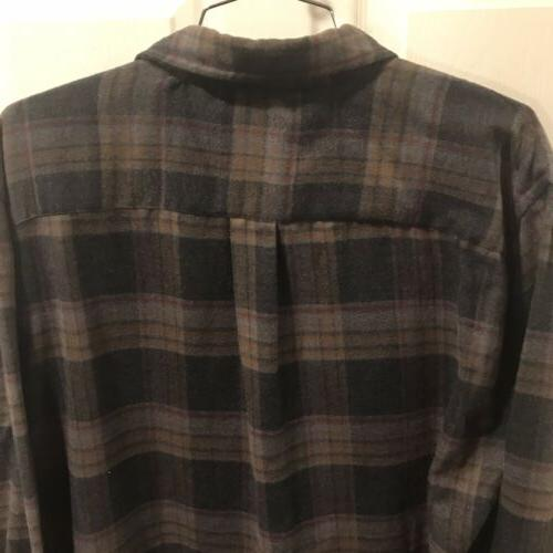 Large Hunting Up Shirt Sleeve Flannel