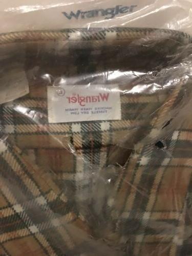 Wrangler/USA/Flannel/Long Sleeve/Shirt/New Stock/RN38899/#504