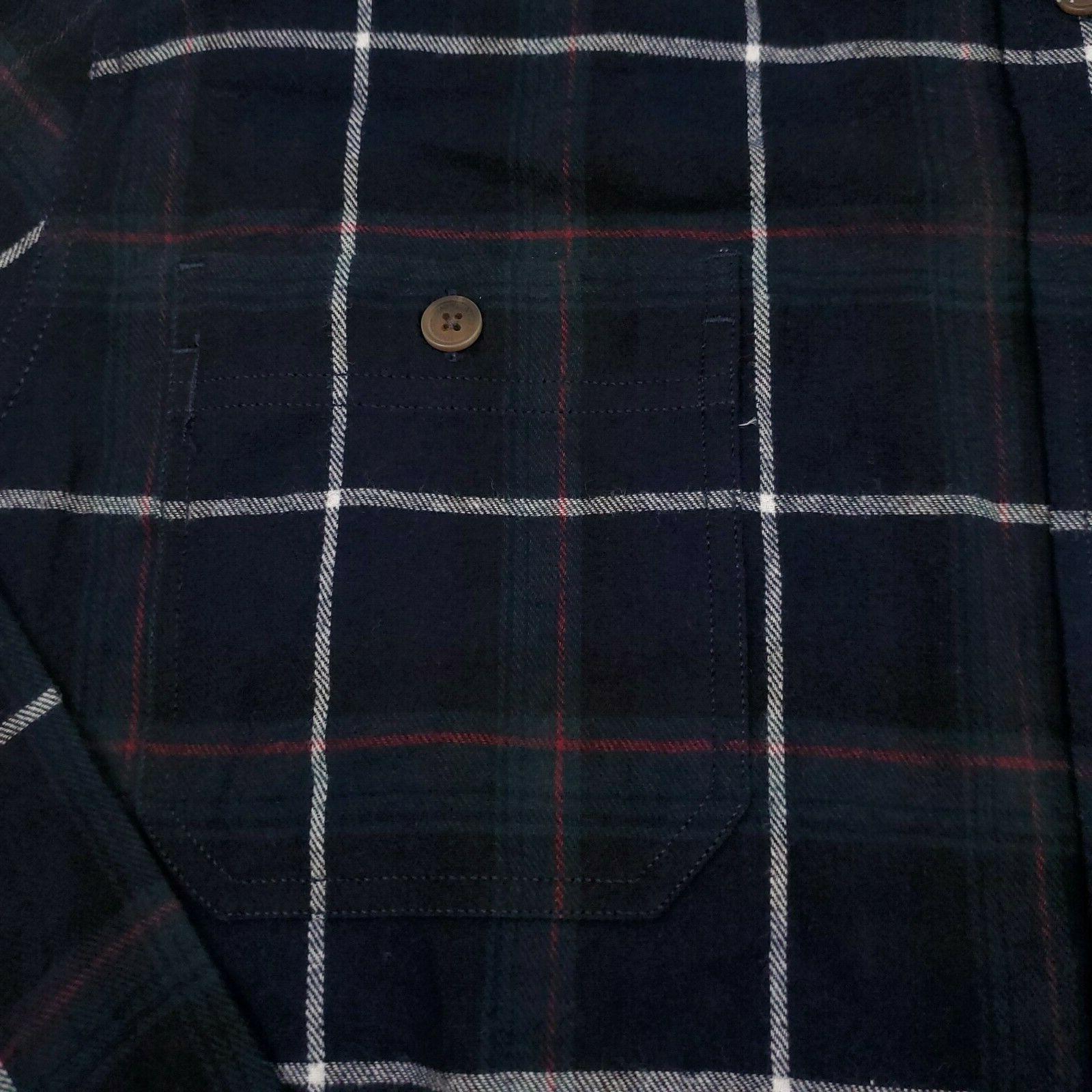Weatherproof Vintage Men's Shirt 100% Cotton Plaid