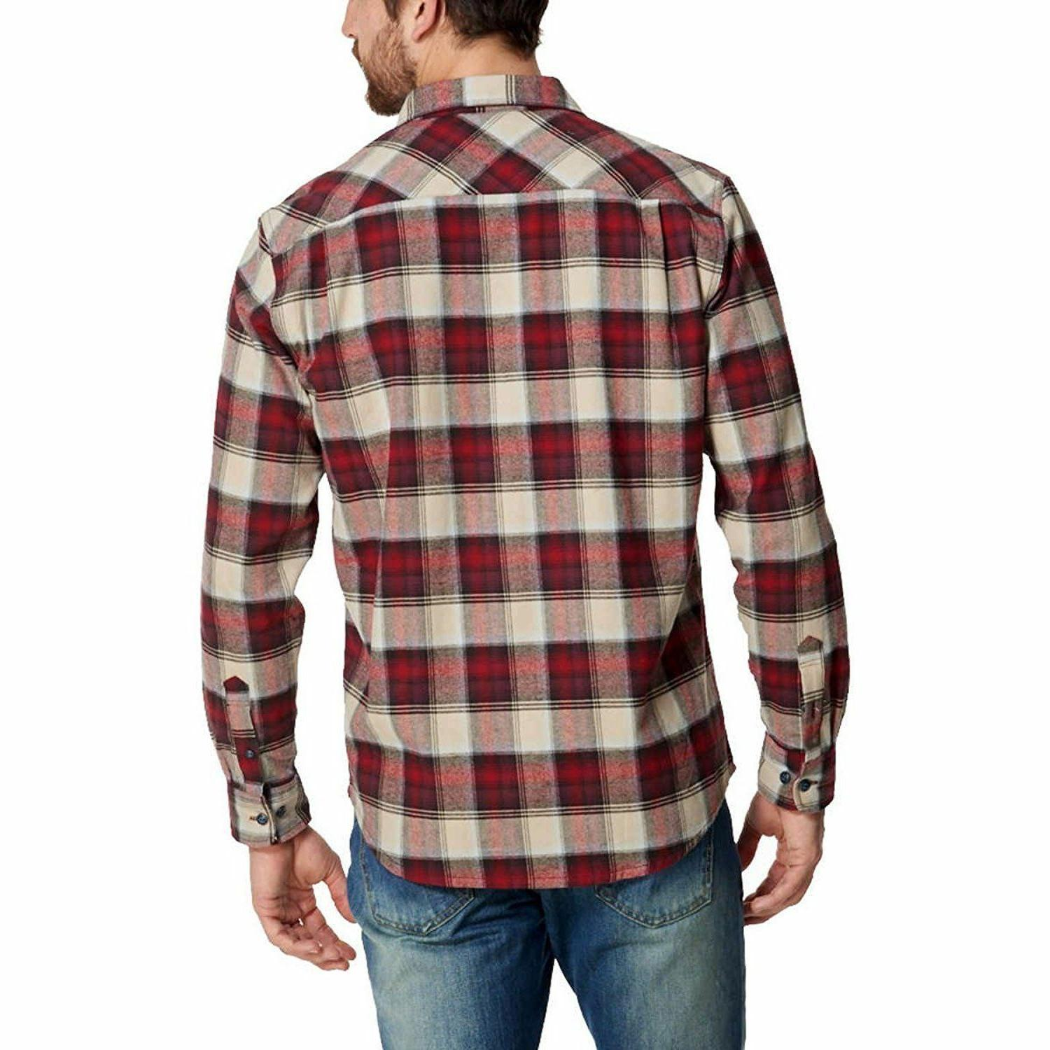 Sleeve Lightweight Plaid Shirts E33