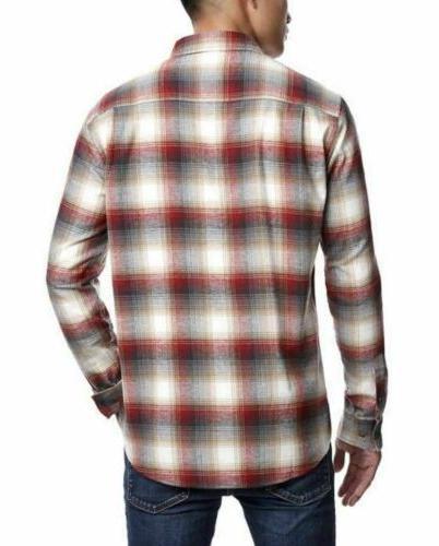 Weatherproof Plaid Long Shirt