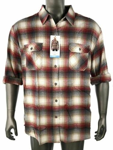 Weatherproof Vintage Plaid Flannel Shirt