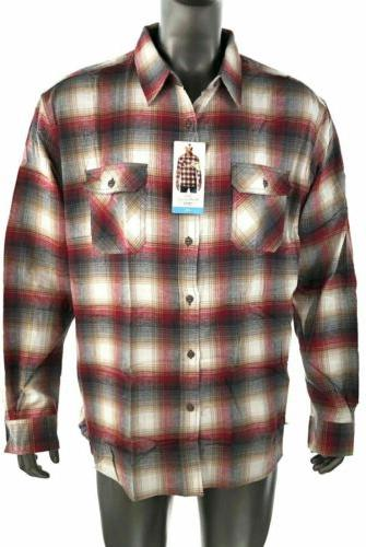 Weatherproof Plaid Flannel Shirt 3XL