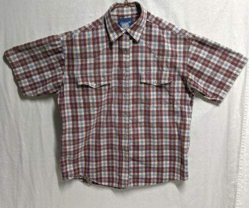 Vintage Wrangler Pearl SS Shirt Medium
