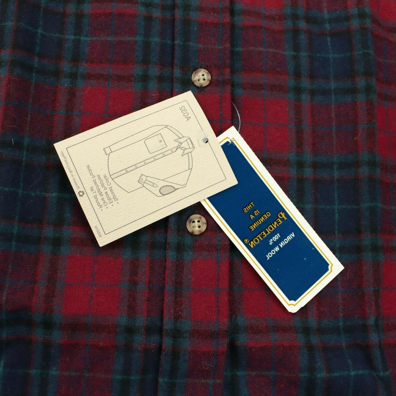 wool flannel patch
