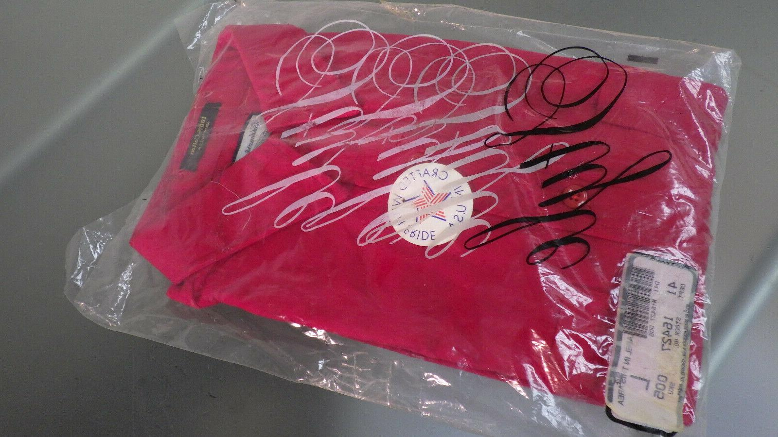 Vtg NWT FIELDMASTER Heavy Flannel Sportswear LS Shirt Large