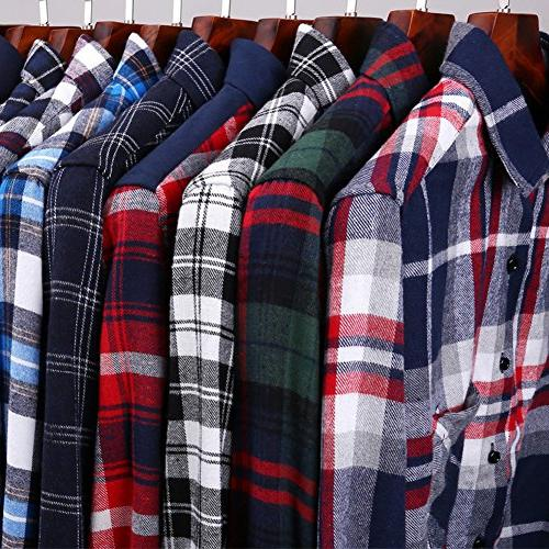 XI Men's Thermal Jacket Sleeve Flannel Shirts