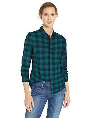 women s audrey fitted flannel shirt choose