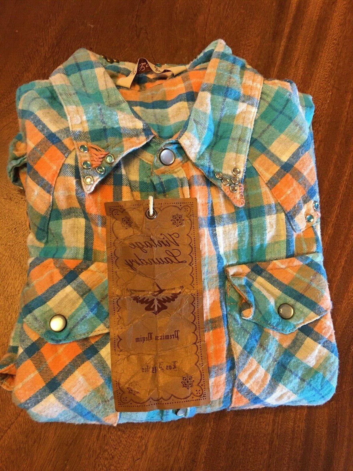 women s brand western style long sleeve