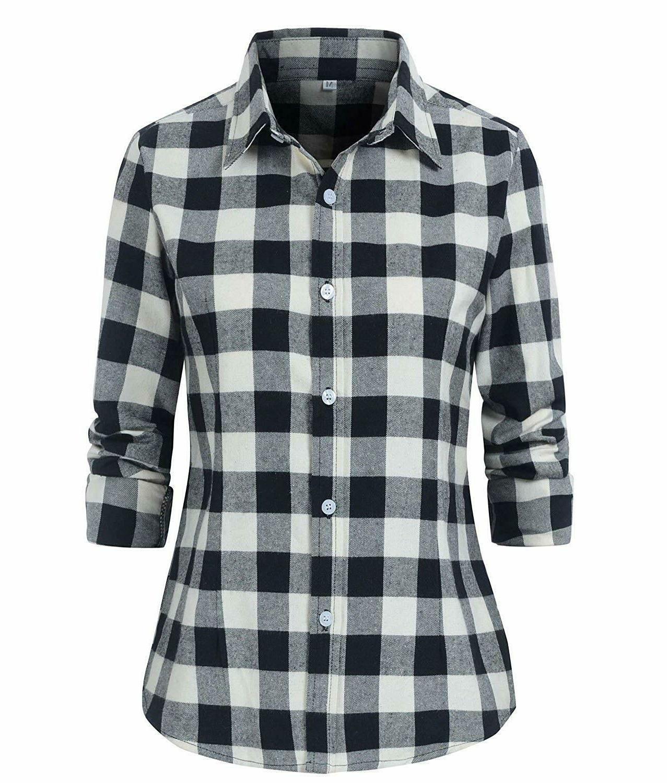 Benibos Check Plaid Shirt