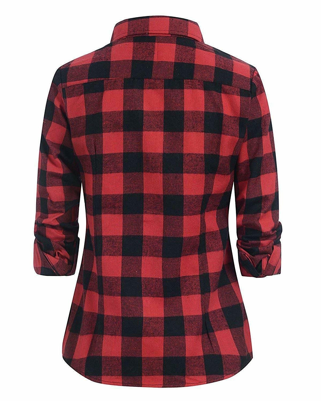 Benibos Women's Plaid Shirt