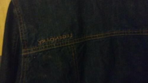 Legendary whitetails women's Lined Denim Jacket Large
