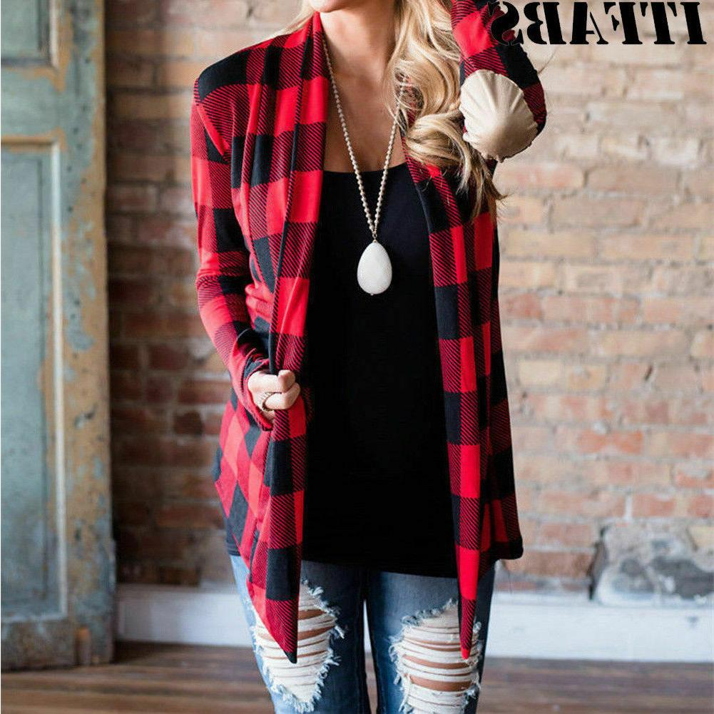 women s flannel plaid long sleeve shirts