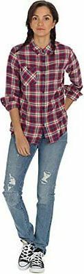 Burton Women's Grace Long Sleeve Woven Shirt - Choose SZ/col