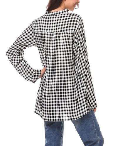 Zeagoo Women's Flannel Shirts Casual