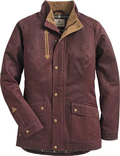 Legendary Country Shirt Jacket Rusty Maroon
