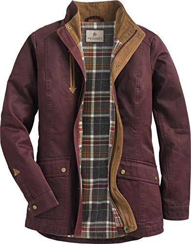 women s saddle country shirt jacket rusty