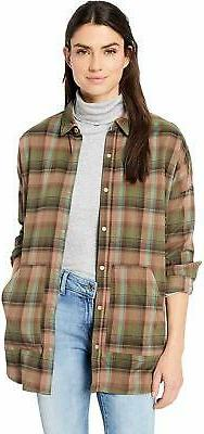 Burton Women's Teyla Flannel Long Sleeve Tee - Choose SZ/Col