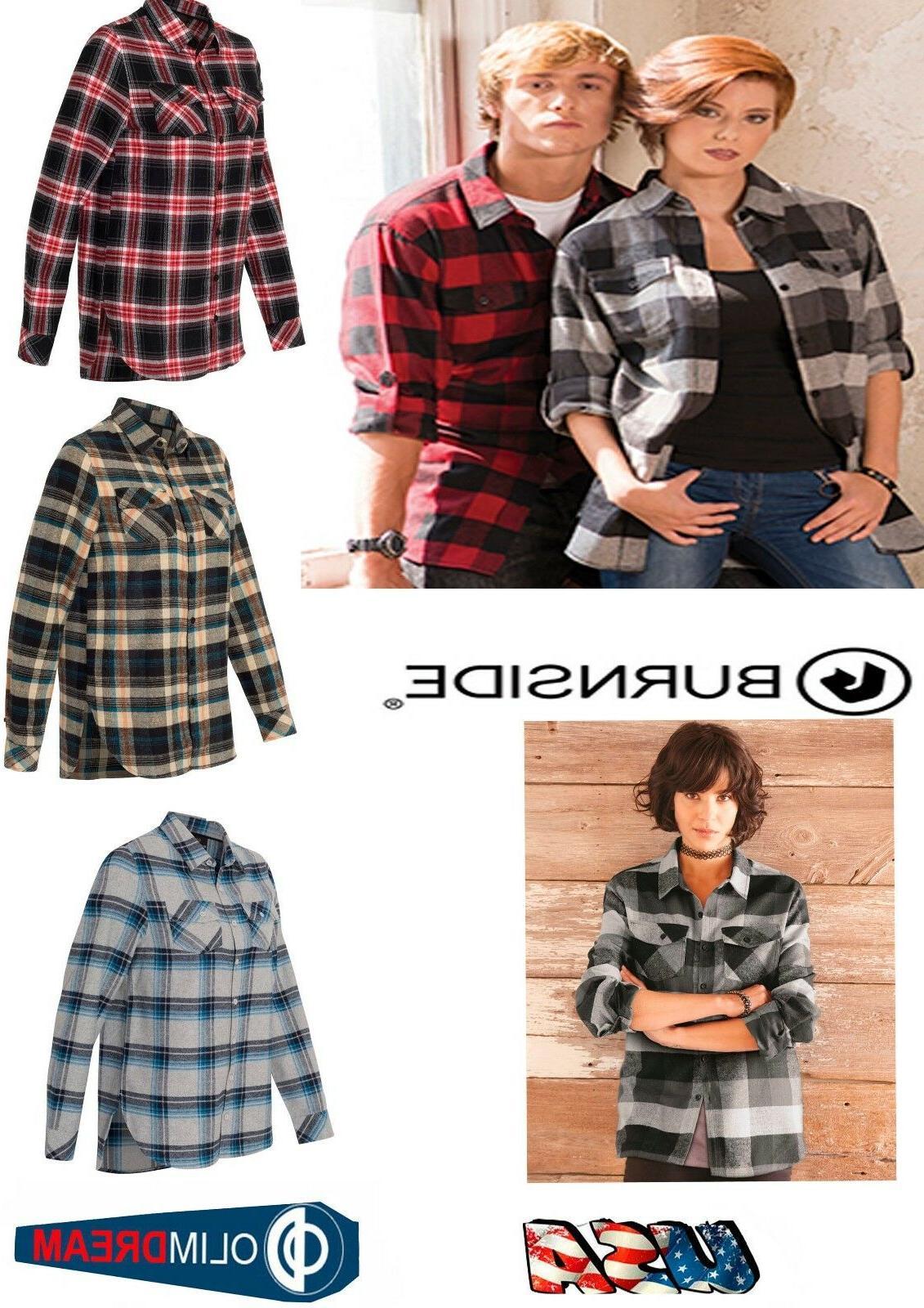women s yarn dyed long sleeve flannel