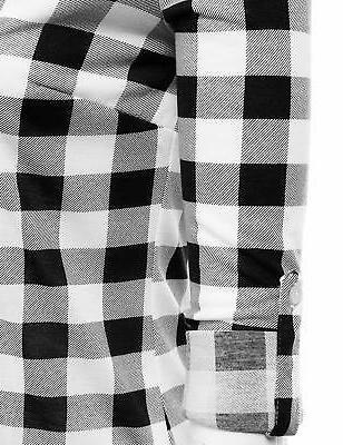 JJ Perfection Womens Sleeve Plaid Flannel Shirt