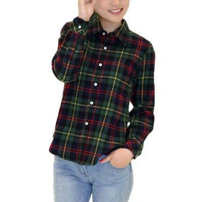 Womens Casual Button Shirt