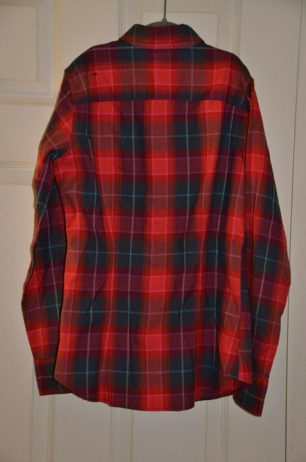 Eddie Flannel Shirt NWT