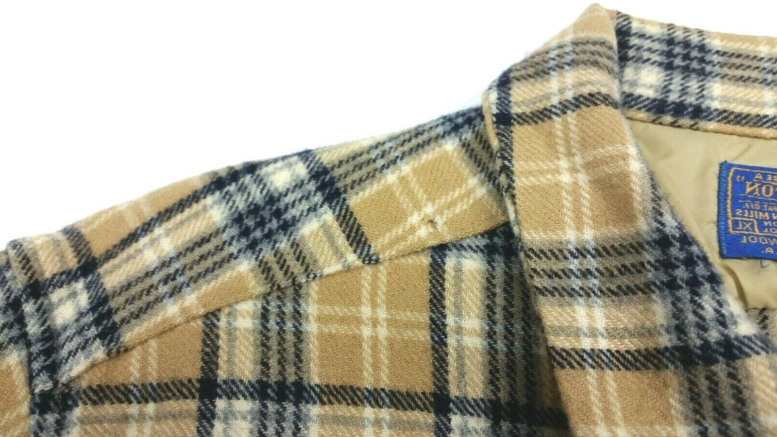 Pendleton Plaid Shirt FITS Medium