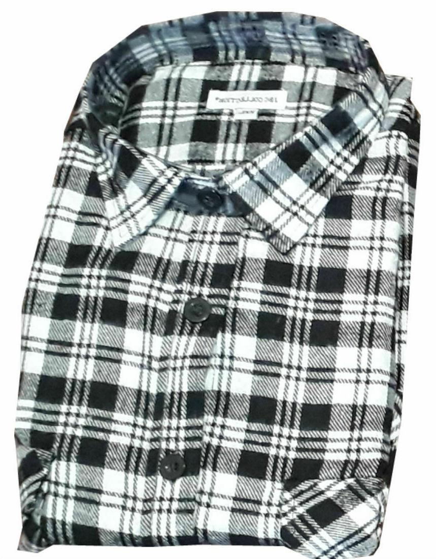 Work Cotton Casual Shirt Flannel Lumberjack Gardening Walking Shirt