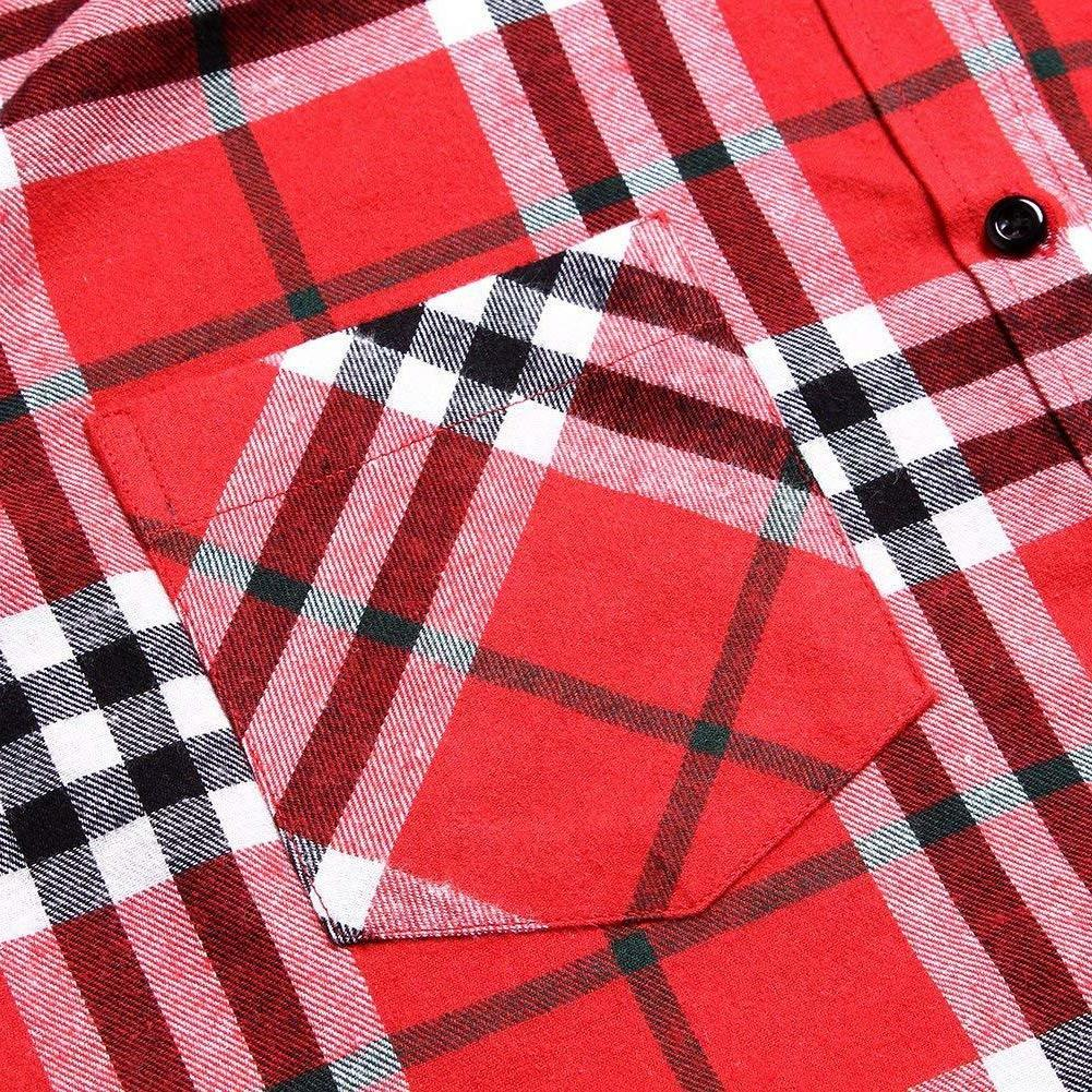 XI Long Thermal Plaid Jacket