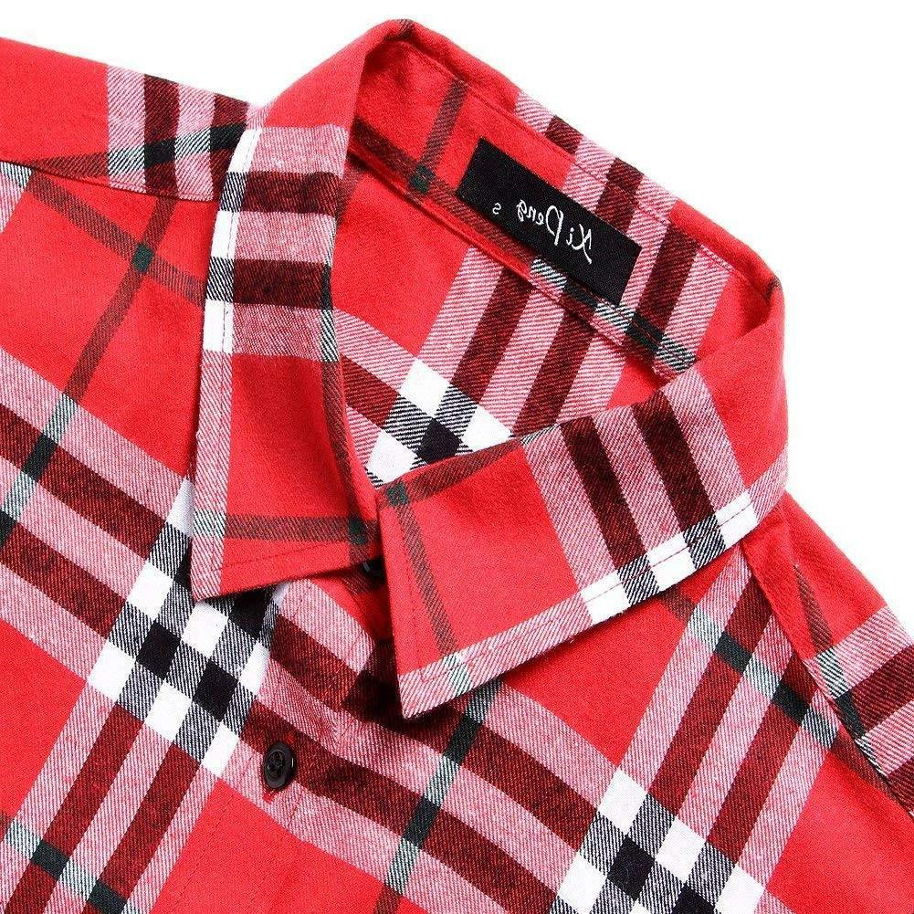 XI Long Sleeve Flannel Thermal Plaid