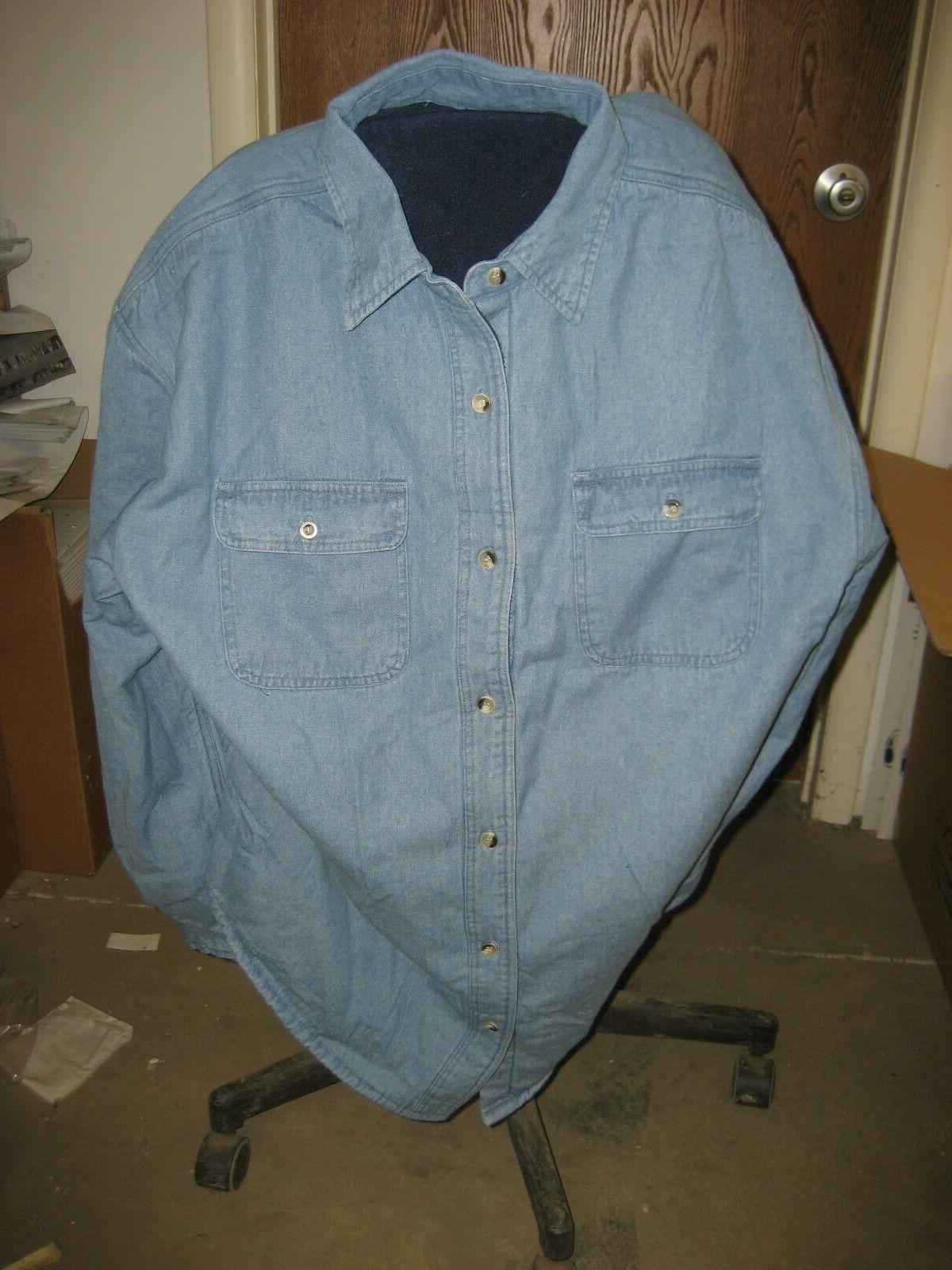 XL Tri 869 Flannel Shirt Jacket