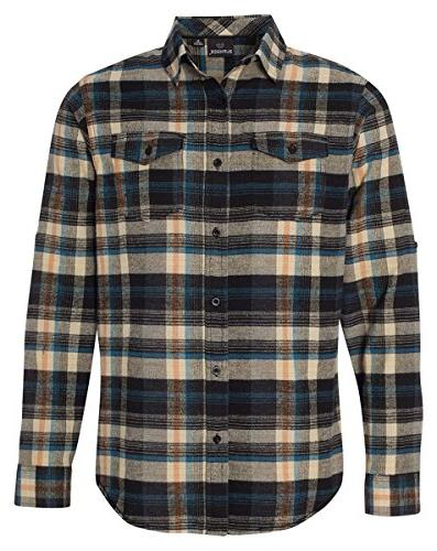 yarn dyed long sleeve flannel